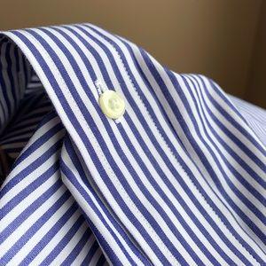 XL Brooks Brothers striped Madison supima shirt